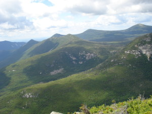 The North Maine woods as seen from Mt Katahdin