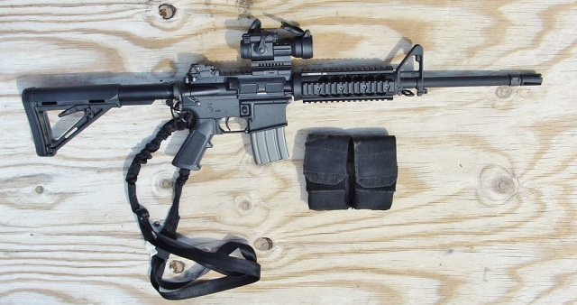 single point sling on m4