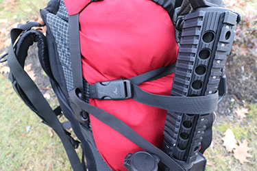 side strap backpack attachments