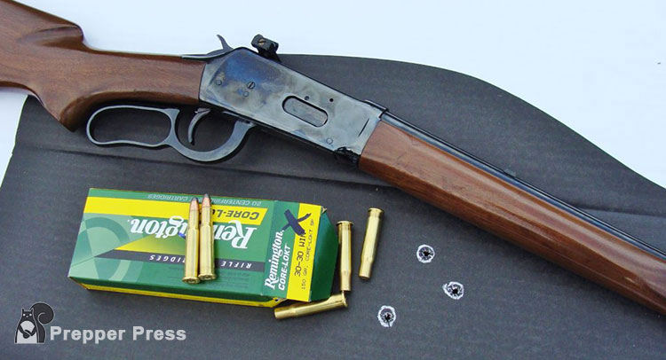 30-30 Winchester lever action rifle