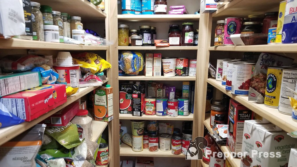 prepper's pantry supply feature