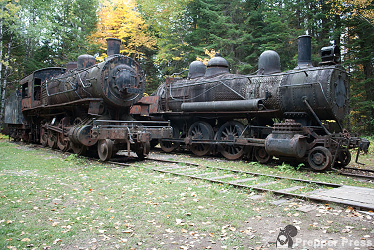 maine ghost trains